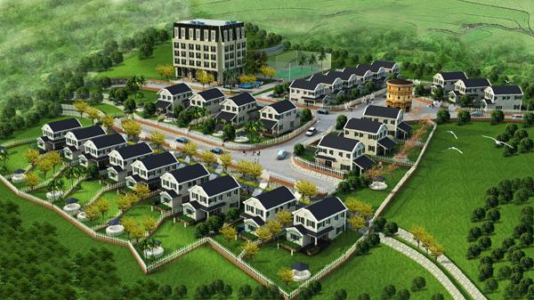 Country%20House%20Tong%20The Tổng quan và quy mô Country House: Biệt thự nơi miền quê thanh bình