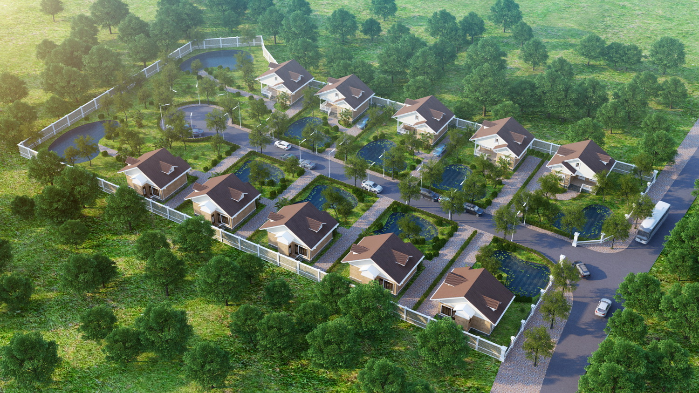 Giaphuvien tongthe Tổng quan và quy mô khu Gia Phú Viên: Biệt thự vườn Gia Gia Phú