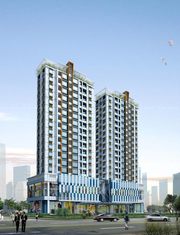 Hà Đông Complex Tower: Tổ hợp Chung cư - Thương mại số 7 Trần Phú
