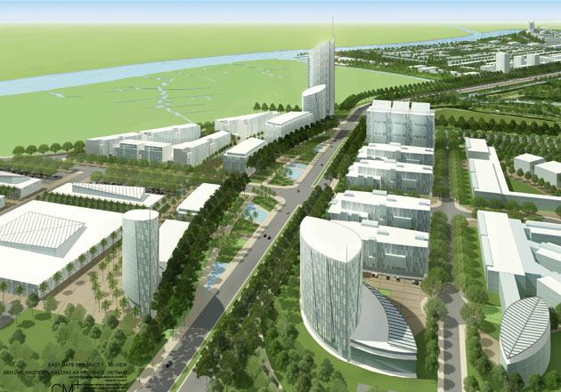 KDT namlong vamcondong Tổng quan và quy mô khu đô thị Nam Long – Vàm Cỏ Đông
