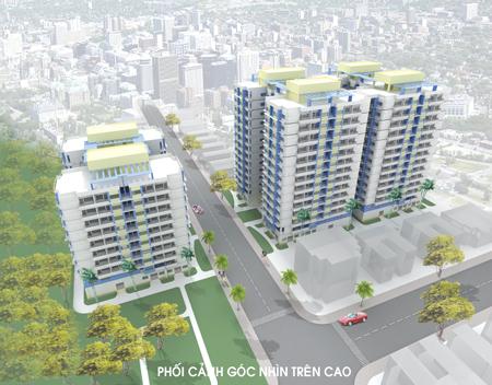Lethanh tongthe Tổng quan và quy mô khu chung cư Lê Thành: Chốn an cư