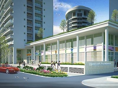 Riverpark Residence: Căn hộ cao cấp với kiến trúc đương đại