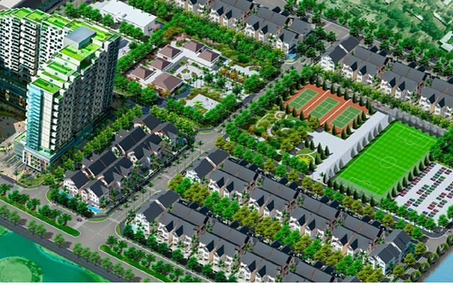 Sunny Garden City: Biệt thự trong đô thị Quốc Oai