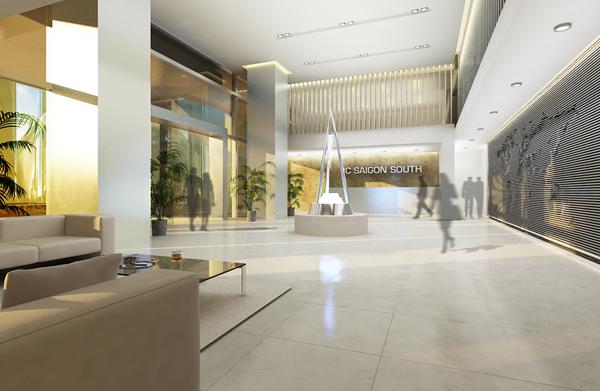 Office lobby Tổng quan và quy mô Royal Tower: Cao ốc văn phòng hạng A ở khu đô thị Phú Mỹ Hưng