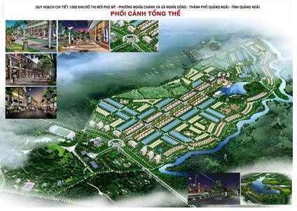 Khu đô thị mới Phú Mỹ: Điểm nhấn cửa ngõ phía Đông Nam Quảng Ngãi