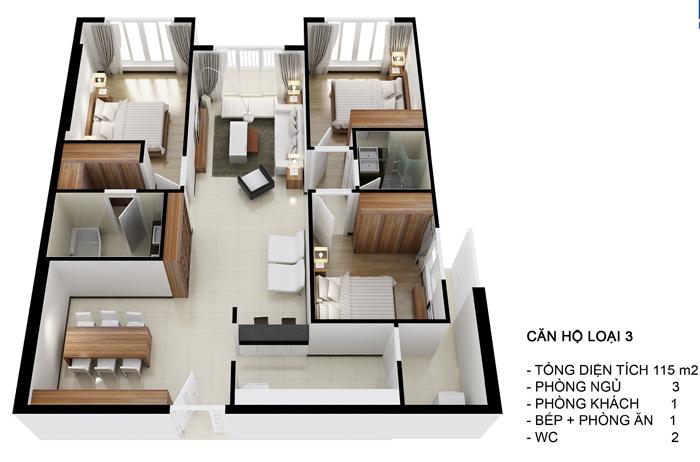 Diamon Riverside Canholoai3 Tổng quan và quy mô khu căn hộ cao cấp Diamond Riverside