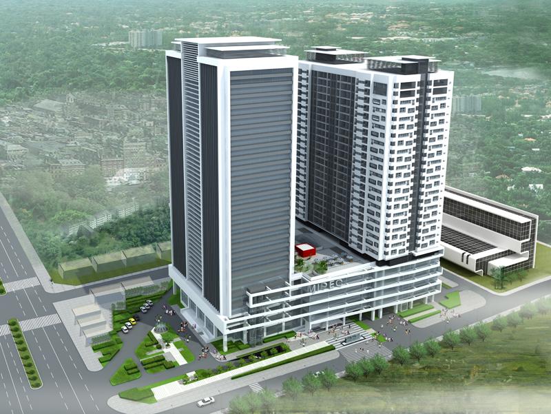 Mipec tower tongthe Tổng quan và quy mô MIPEC Tower: Tổ hợp căn hộ cao cấp tại quận Đống Đa