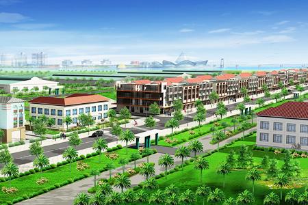 Pho thuong mai Long dinh Tổng quan và quy mô khu nhà phố thương mại Long Định