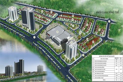 To hop do thi cntt pitc Tổng quan và quy mô khu tổ hợp đô thị Viễn thông và Công nghệ Thông tin   PTIC