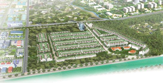AnLac residence tongthe Tổng quan và quy mô khu dân cư An Lạc Residence: Đất thị thành, giá tỉnh lẻ