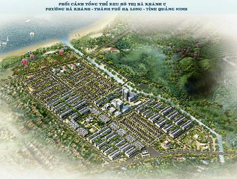 Cao Xanh – Hà Khánh C: Đô thị mới bên bờ biển Tp.Hà Long