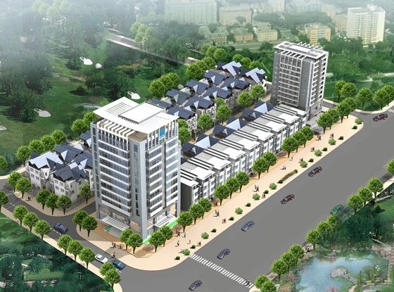 Khu%20nha%20o%20Nghi%20Phu%20 tongthe Tổng quan và quy mô khu tổ hợp căn hộ, nhà liền kề Khu nhà ở Nghi Phú