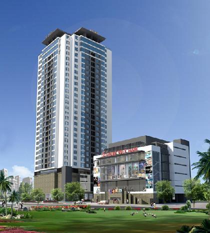 VNT Tower: Tổ hợp thương mại dịch vụ và căn hộ chung cư