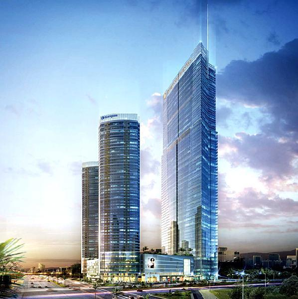 Dự án Keangnam Hà Nội Landmark dự kiến sẽ khai trương vào quý 3-2011.