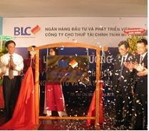 BIDV khai trương Công ty Cho thuê tài chính BLC