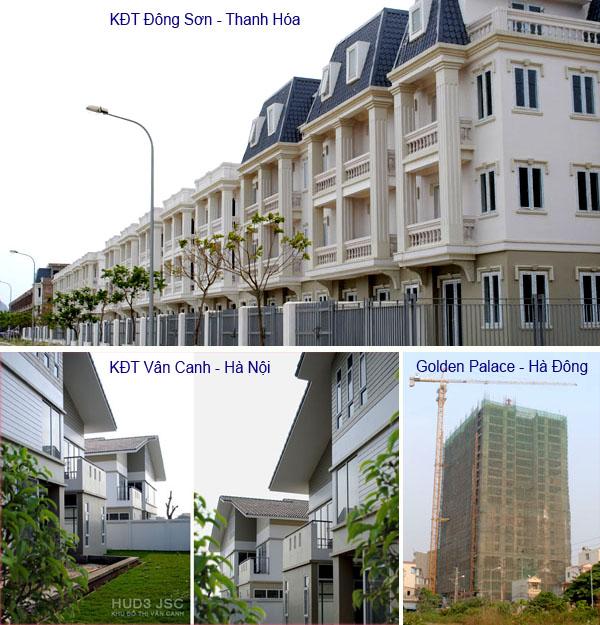 Quý IV/2011: HUD3 đạt 107,58 tỷ đồng doanh thu từ bất động sản
