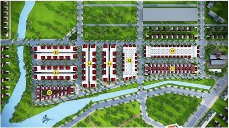 Ra mắt KDC Bái Tử Long Đại Phước với giá từ 5,5 triệu đồng/m2