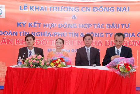 Kim Oanh: Hợp tác đầu tư dự án Bien Hoa Dragon City