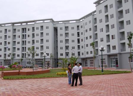 Quỹ đất dành xây nhà ở xã hội đạt thấp