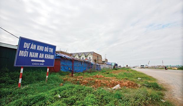 Mắc cạn với Dự án Nam An Khánh