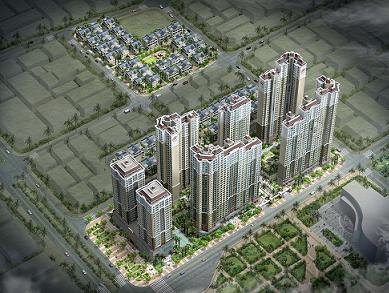 Chào bán Huyndai Hill State với giá từ 26,5 triệu đồng/m2