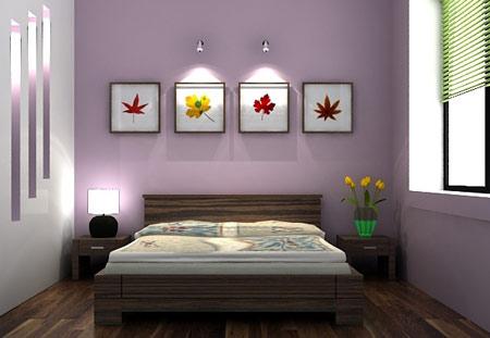 Kê giường ngủ theo phong thủy