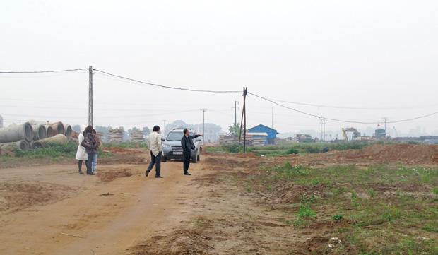 Đất nền dự án Mê Linh hấp dẫn trở lại