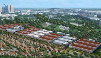 Chào bán Duc Hoa Residence với giá 2,7 triệu đồng/m2