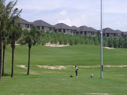 """""""Biệt thự hóa"""" sân golf"""