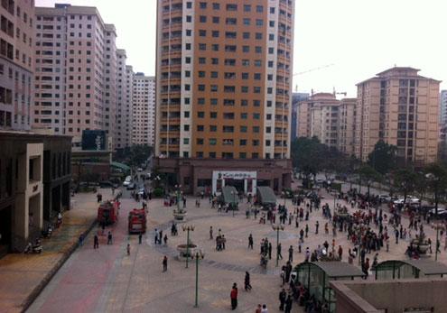 Cháy chung cư 34 tầng ở Hà Nội