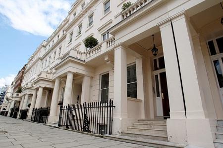 Giá nhà tại trung tâm London tiếp tục tăng