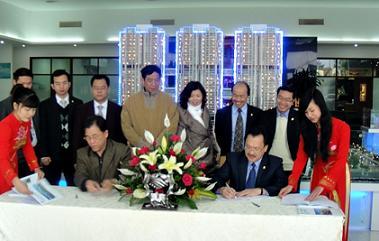 Minh Việt kí hợp đồng xây dựng Tricon Towers