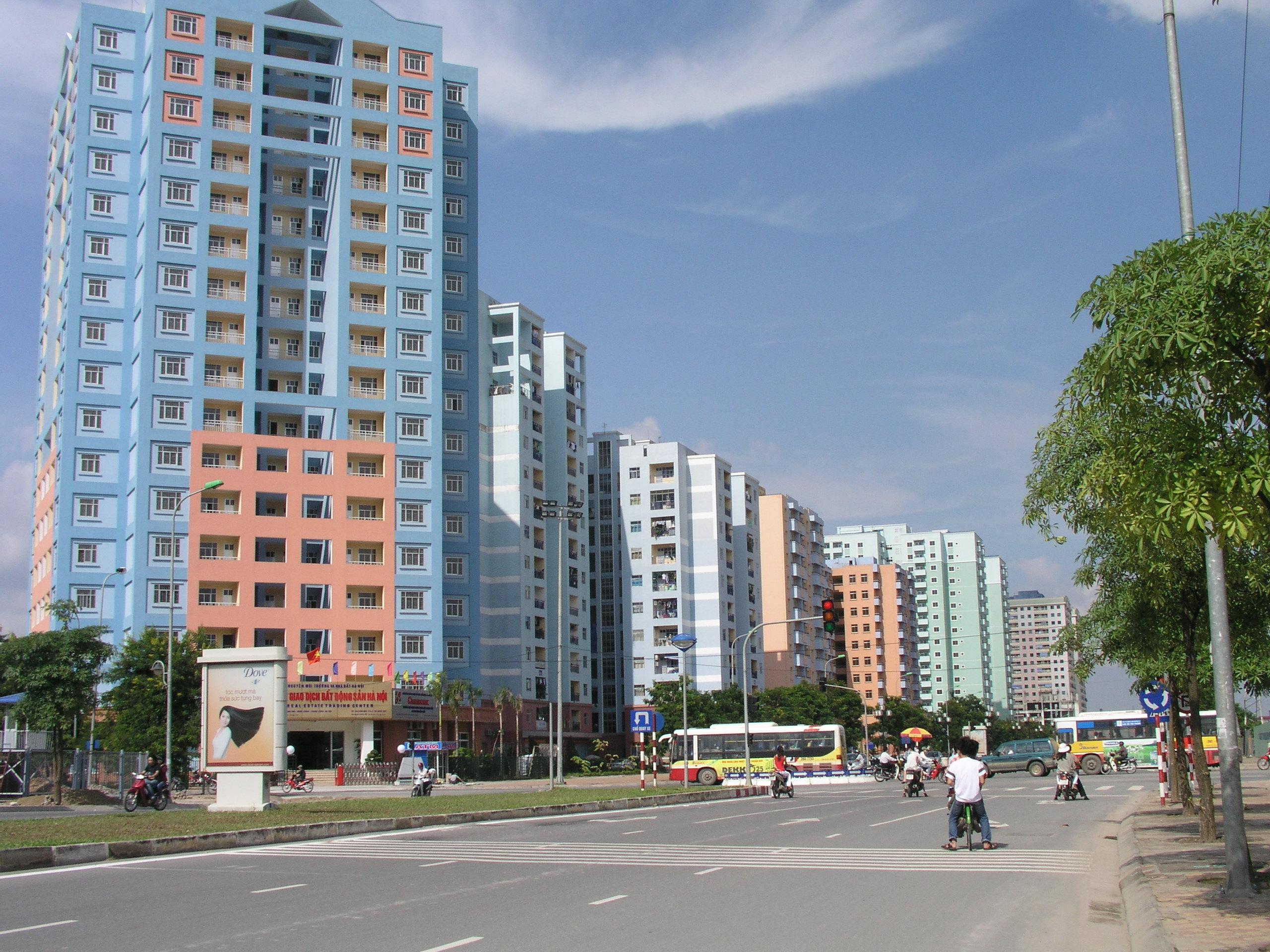 Thị trường bất động sản: Chuộng căn hộ giá bình dân