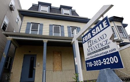 Mỹ: Số lượng căn hộ được bán giảm trong tháng 2