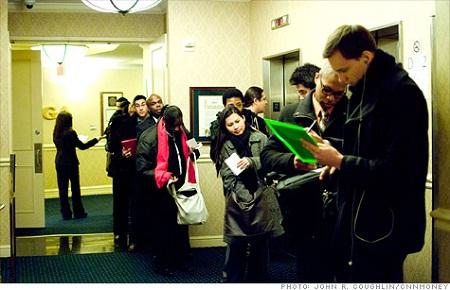 Mỹ: Tình trạng thất nghiệp cải thiện đáng kể