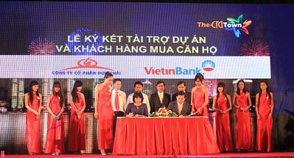 Đức Khải: Ký kết hợp tác hỗ trợ vốn với Vietinbank