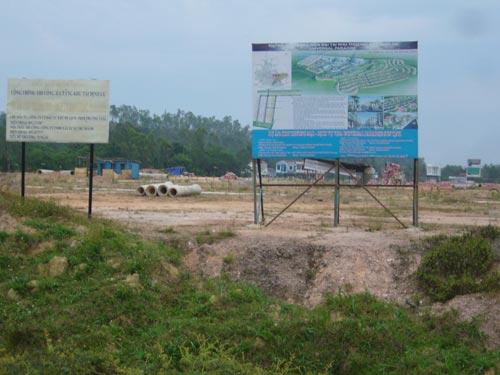 Ba dự án của Tân Tạo ở Quảng Ngãi đều đình trệ