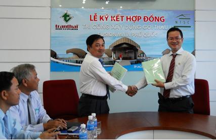 Bất động sản Trần Thái ký kết hợp tác với N.T.S.C