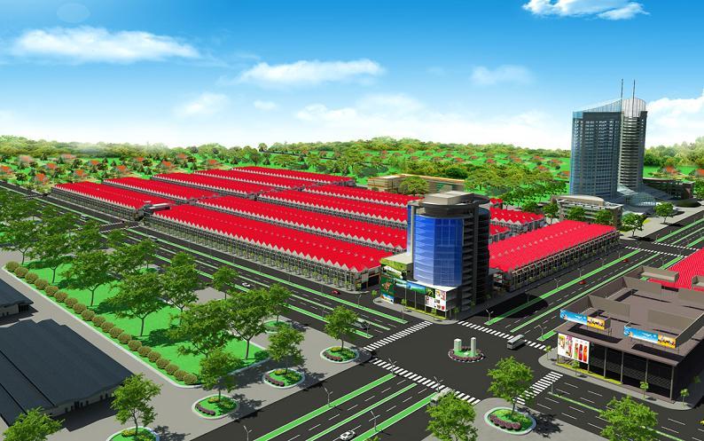 Phố thương mại Phú An: Phú quý – An cư – Phát lộc
