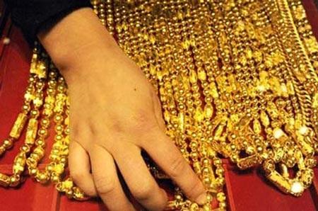 Cuối ngày, vàng sụt giảm về mức giá 43,50 triệu đồng