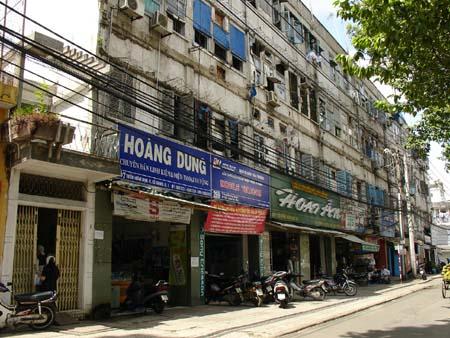 TP Hồ Chí Minh:Cải tạo chung cư cũ - Bài toán khó