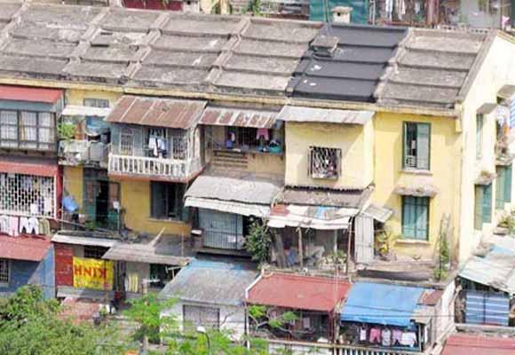 Khảo sát, kiểm định 10 chung cư cũ ở quận Thanh Xuân