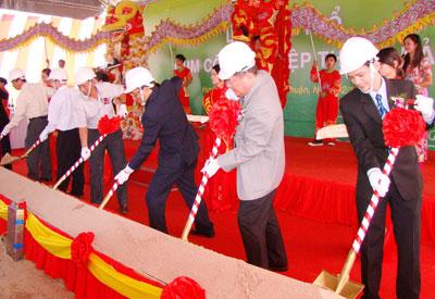 Bình Thuận: Khởi công Cụm công nghiệp Thắng Hải - Hàm Tân