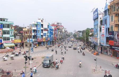 Khung giá đất Hà Nội 2012: Cao nhất như cũ