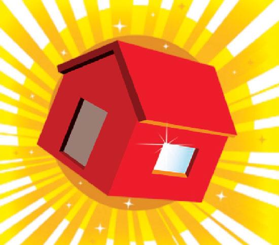 Bất động sản: Nhà sang hết thời, bình dân bán được