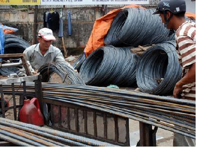 Sản xuất thép đạt 555 ngàn tấn trong tháng 11/2011