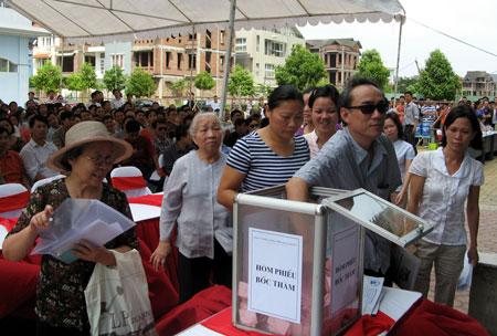 Nhà thu nhập thấp Sài Đồng: Lo về giá