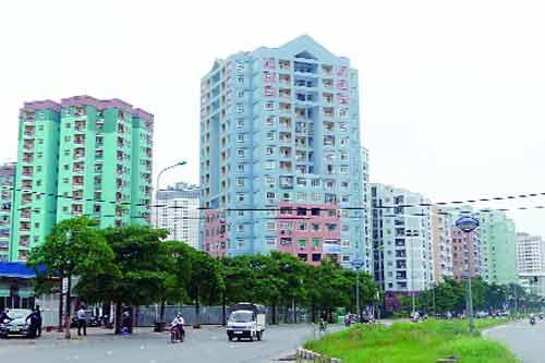 Giá bất động sản Hà Nội : Chưa thể giảm ngay !