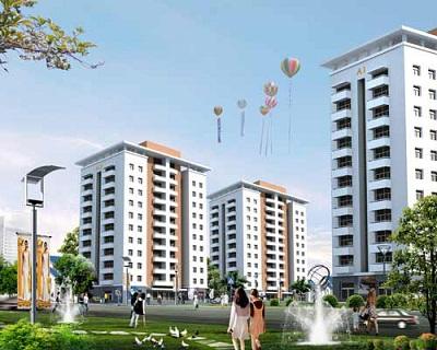 Khu đô thị làng hoa Tiền Phong