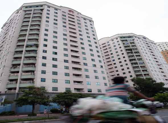Chất lượng chung cư kém : Thiếu chế tài phù hợp
